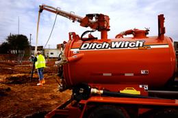 Подземные коммуникации и Вакуумный экскаватор Ditch Witch